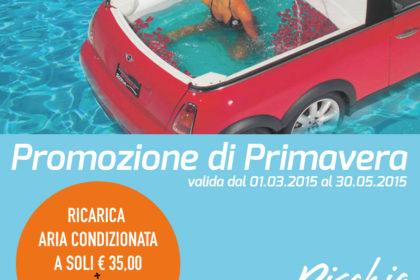 Promozione Ricarica Aria Condizionata, a 35 euro.