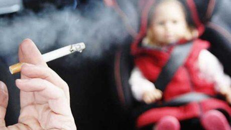 Divieto di fumo in auto